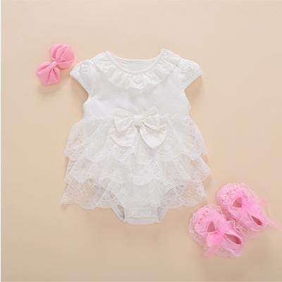 white dress 3pcs