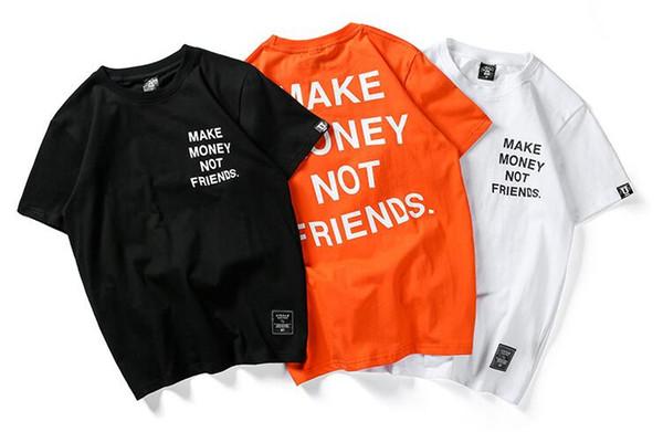 Hommes Femmes T-Shirt Kanye West Street Marque De Marée Y 3 Coton À Manches Courtes Polos Superstar T-shirt