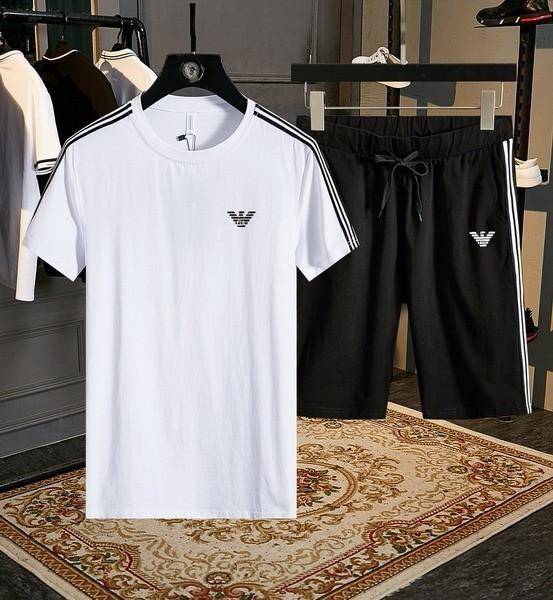 2019 new high quality men's cotton short sleeve suit mg170#190412016