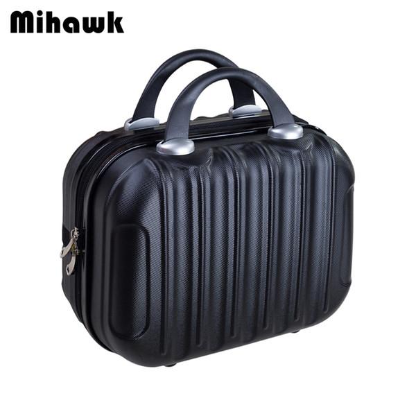 Mihawk donne moda trucco valigia tote cartoon viaggi bellezza articoli da toeletta lavare tote box organizer borsa accessori accessori