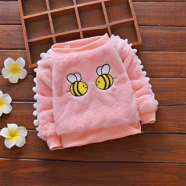 quality Autumn Winter Baby Girl Sweater Pullover Cartoon Cute Sweaters Knitwear Children Clothes baby Kids clothes Outerwear