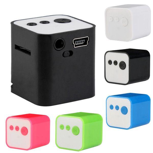 Great Xmas gift player portable mini speaker CUTE fashion HD sound audio player USB Mini MP3 Music Player Support 32GB TF Card Music speaker
