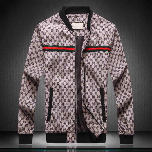 New Top Mens Jacket Long Sleeve Windbreaker Windrunner Mens Zip