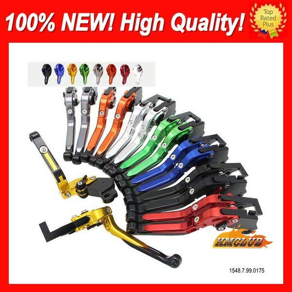 top popular 10colors CNC Levers For SUZUKI GSXR600 GSXR750 01 02 03 GSXR 600 750 GSX R600 2001 2002 2003 CL707 Folding Extendable Brake Clutch Levers 2020