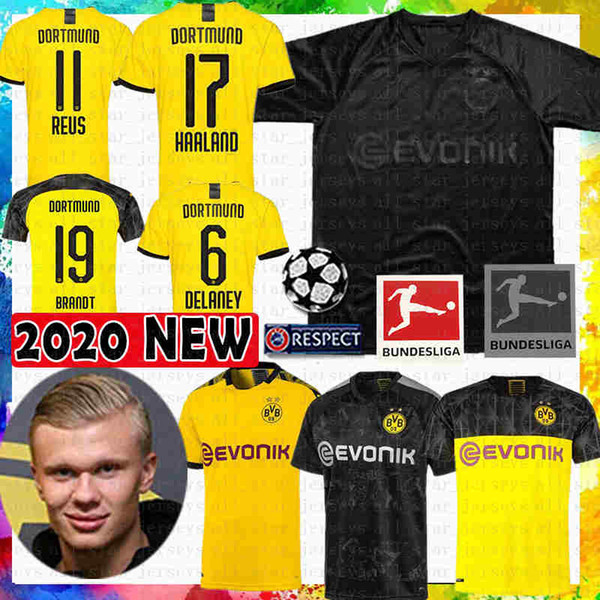 110 Borussia Dortmund Soccer Jersey 11 Reus M Gotze 17 Haaland 7 Sancho Football Shirt Hummels Diallo Brandt Schulz Paco Maillots De Foot Black Yellow Buy At The Price Of 14 90 In Dhgate Com Imall Com