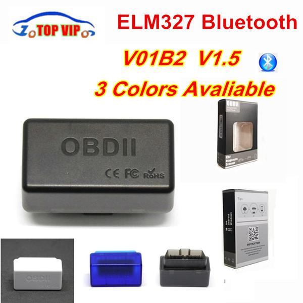 2018 Новые мини ELM327 ODB2 Bluetooth адаптер ELM 327 v1.5 Авто Диагностика OBD2 сканер для Android Torque Лучшая цена