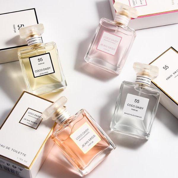 Profumo di alta qualità Bellezza donna profumo di lunga durata fragranza donne profumo Deodorante in vetro bottiglia spray Incenso 50 ml 1.7 oz