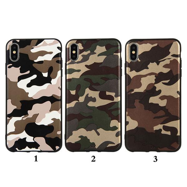 Army Camo Camouflage Silicone Back Phone Cover Case For Samsung J4 J2 Core J6 Plus J6 Prime J8 2018 Soft TPU Capa Funda Coque