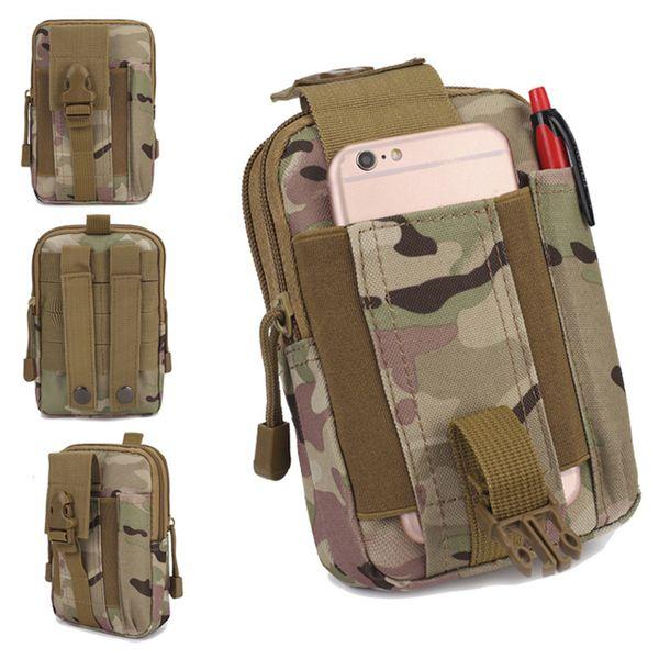 Мужчины тактический Molle мешок пояса талии пакет сумка небольшой карман военный талии пакет работает сумка путешествия кемпинг сумки мягкая спина