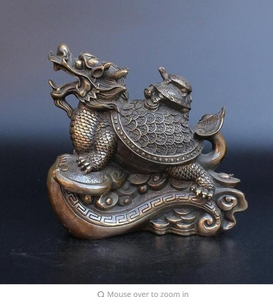 2019 NEW +Pure Copper, Light Turtles, Good Luck, Return To The Town,  Inviting Wealth, And Ktle House, Evil Spirit, Safety, Home Furnishing  Buddha From