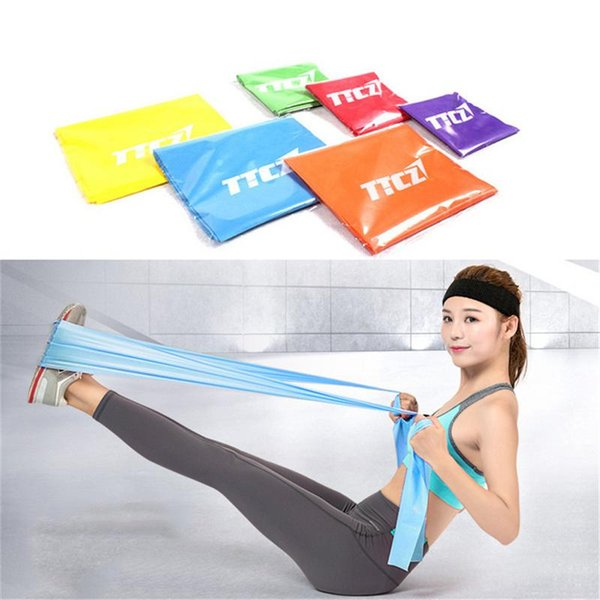 Strength Training Resistance Bands Yoga Rubber Loops Tension Fitness Equipment Band Personal Trainer Strap Elastic Band