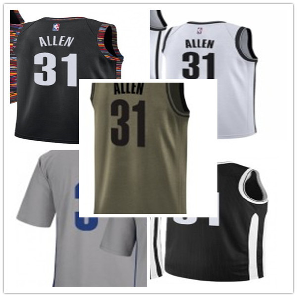 new product d8fdc fce56 2019 Custom Basektball Your Selected Jerseys #31 Jarrett Allen Jerseys  Men#WOMEN#YOUTH#Men'S Baseball Jersey Majestic Basketball Jersey From ...
