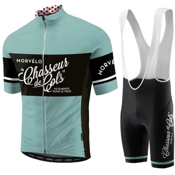 Morvelo team Cycling Short Sleeves jersey bib shorts sets 2019 Cycling Jersey Summer Cycling Clothing Sports Suit