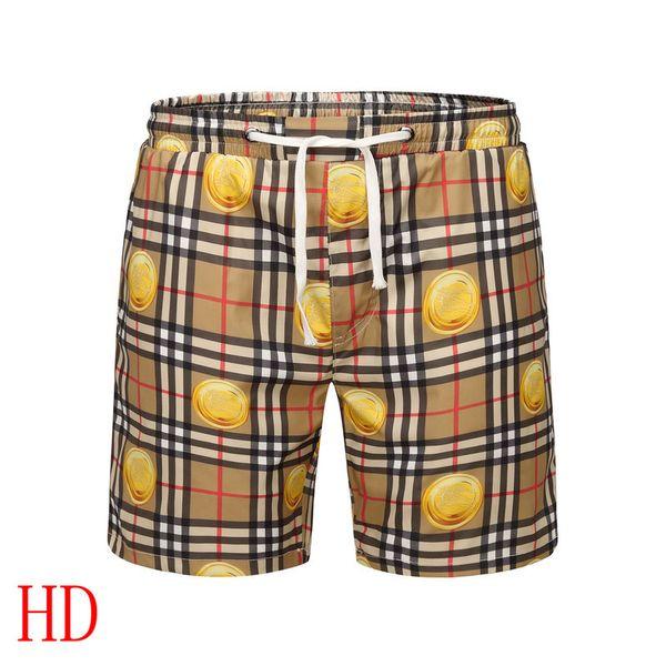 Compre Pantalones Cortos De Color Amarillo De 2019 Para Hombre
