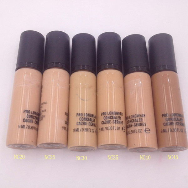 Premium face full coverage cream pro longwear concealer cosmetics 12 colors available moisturizing cache creams DHL Free