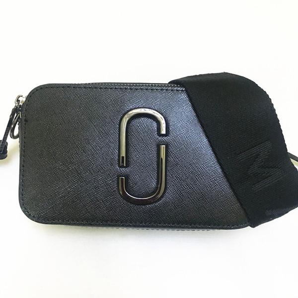 2019 Neue Mischfarbe Tasche Leder Kameratasche Breiter Quadratische Großhandel Doppelreißverschluss Schultergurt Damen Handtasche Kleine 35L4RjA