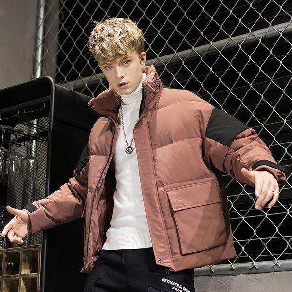 Nice Winter Hooded Fashions Brand Down Jacket Men Duck Down Streetwear Feather Coat Long Warm Mens Clothing