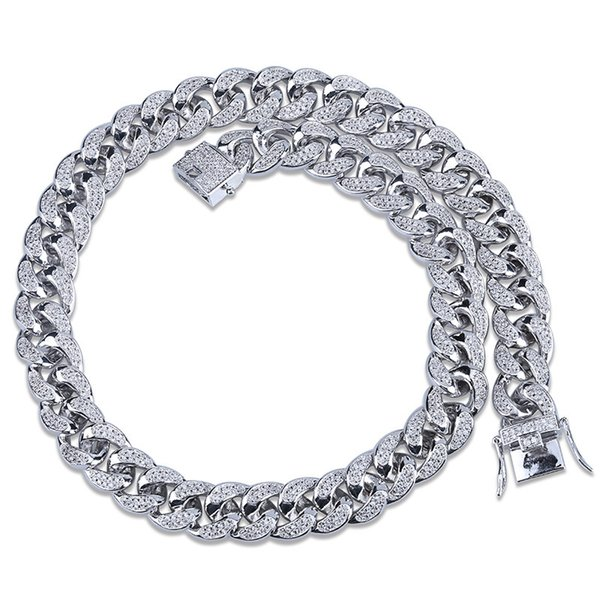 NK18010005-silver 18inch