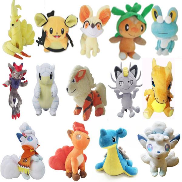 12 pouce série Pokemon Pikachu Plush jouets Doux en peluche mignon Grab machine Poupée Pour Enfants anniversaire meilleur cadeau lol