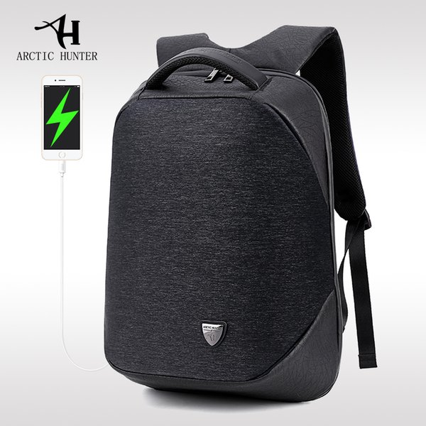 Arctic Hunter School Backpack Laptop Backpacks Men Waterproof Mochila Casual Business Male Bag Travel Backpack Y19061102