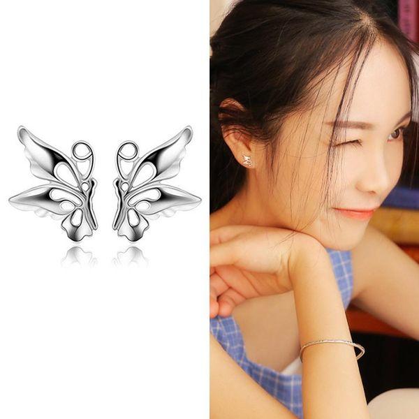 Mode-Frauen-modische Schmetterlings-Bolzen-Ohrringe für Partei-Abend-Modeschmuck-Uhren