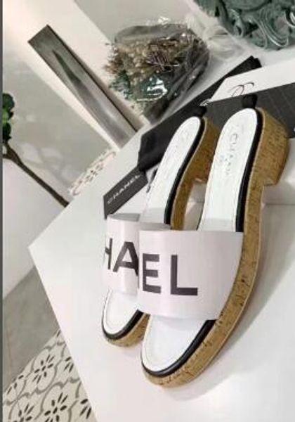 Novas mulheres da moda Simples e macio e confortável sandálias de sola plana respirável para as mulheres chinelos no verão L3310