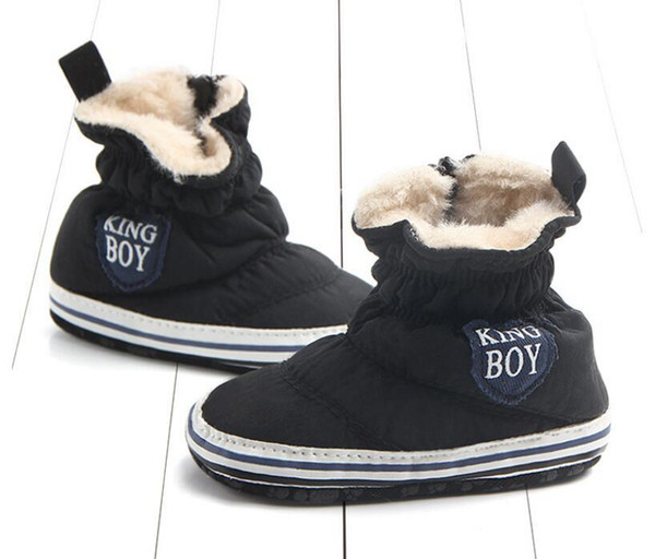 WarmABC winter new warm non-slip baby toddler shoes cute sheep small boots wholesale shoes toddler shoes