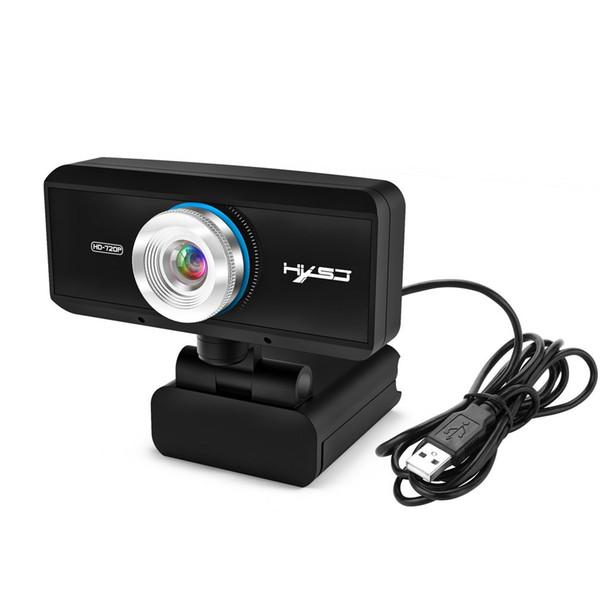 HXSJ S90 HD Webcam 720 P USB Kamera ile Geniş Ekran Video Görüşmesi için Dahili Mikrofonlu Canlı Video Streaming Webcam