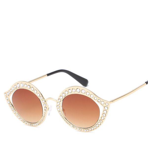 Fashion Women Sunglasses Bling-bling Full Frame Glasses For Mens Women Good Quality Luxury Style Lady Eyewear Popular Sunglass