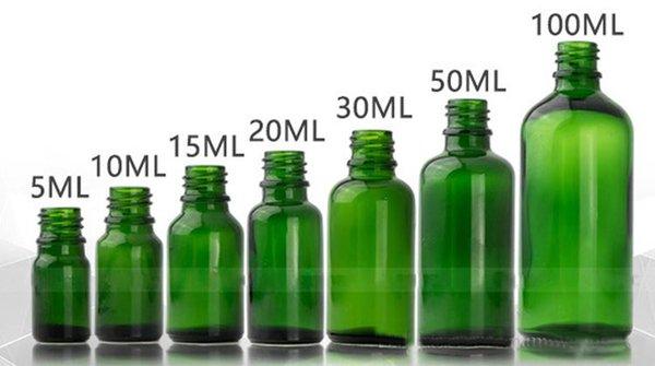 10ml 15ml 20ml 30ml 50ml 100ml Refillable Portable Glass Atomizer Essential Oil Sprayer Perfume Cosmetic Bottle With Black Pump Spray