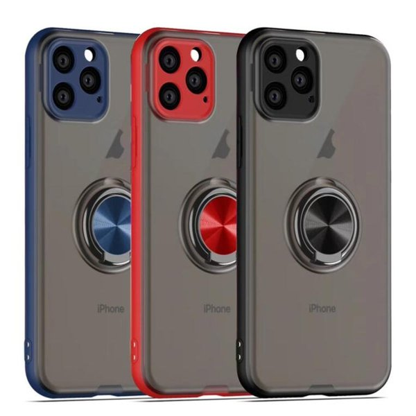 Pour Iphone 7 8 X 11 X Xr Pro Max Mode anneau magnétique Téléphone Case Protection anti-chute de cas