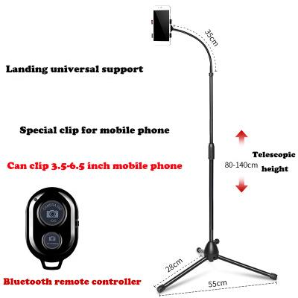 Mobile phone bracket + Bluetooth