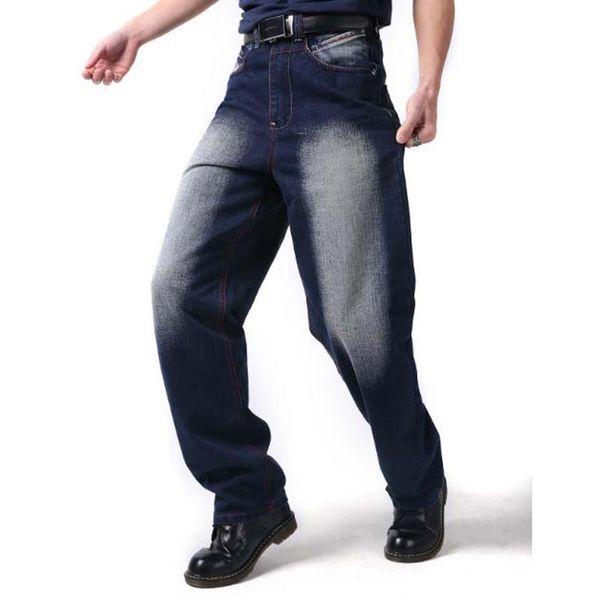Toptan Sonbahar Kış Erkek Pantolon Adam Artı Boyutu 44 46 Hip Hop Baggy Pantolon erkek Erkek Eğlence Pantolon Moda Tasarım