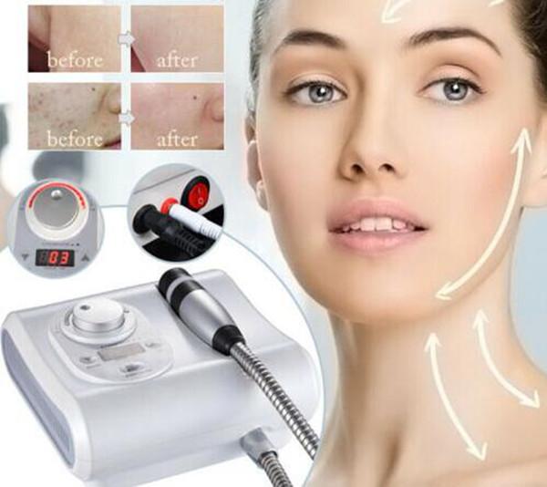 2 em 1 Cryo nenhuma máquina antienvelhecimento quente fresca quente da beleza dos cuidados com a pele da pele de Mesopor Mesotherapy da pele de Electroporation