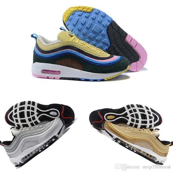 Üçlü beyaz siyah pembe Koşu ayakkabıları Og Metalik Altın Gümüş Bullet Erkek eğitmenler Kadın spor mağazası spor ayakkabı sneakers ile ayakkabı