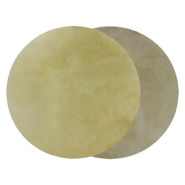 best selling Set Of 2 Drum Head Buffalo Skin 33cm Round African Drums Replacement Parts
