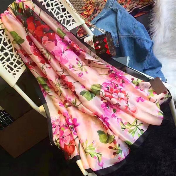 Fashion beach scarves in Europe and America women luxury designer scarfs