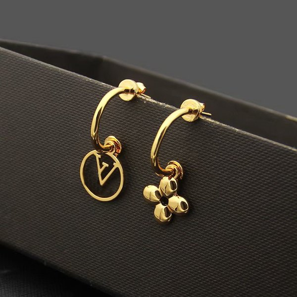 Earrings/Yellow gold