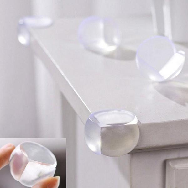 Baby Sicherheit Schreibtisch Ecke Schutz Transparent Home Tischkante Kissen Schutz Kinder Schutz Arc PVC Kinder Sicherheit Kantenschutz Abdeckung