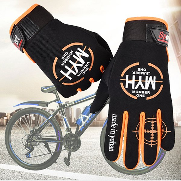 MTB Motorcycle Fitness Gloves Screen Touch Outdoor Sports Bike Full-finger Glove