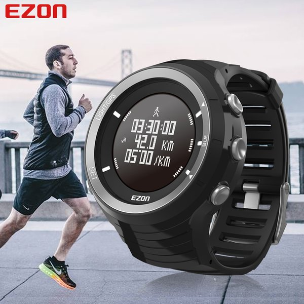Großhandel EZON GPS HRM Pulsmesser Sport Wandern Training Fitness Uhr Kalorien Schrittzähler Bluetooth 4.0 Smart Sportuhr T033 Von Homejewelry,