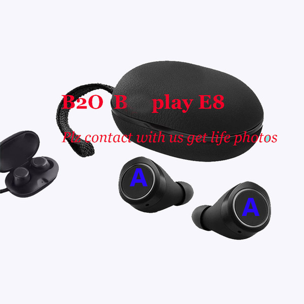 best selling Origin Super quality BO play E8 wireless bluetooth headphones earphones noises reduction wireless earbuds in-ear TWS headset for android ISO