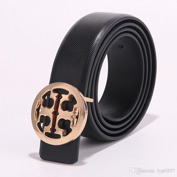 2019 women fashion crocodile designer good brand belts Smooth Buckle Belt Men High Quality male Tide Leather Belts For Men fashion