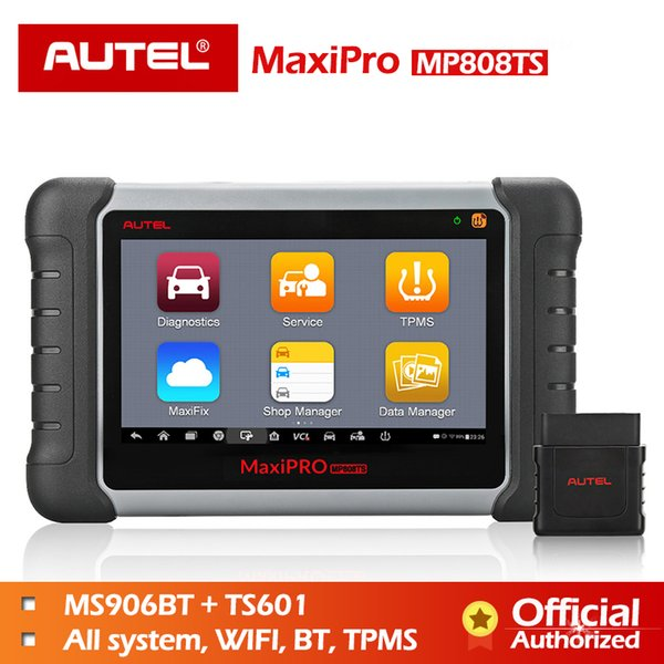 Autel MP808TS Diagnostic Tool Prime of DS808 Better than MS906 MS906TS MS906BT Combine of MS906BT TS601 Wifi Bluetooth Scanner