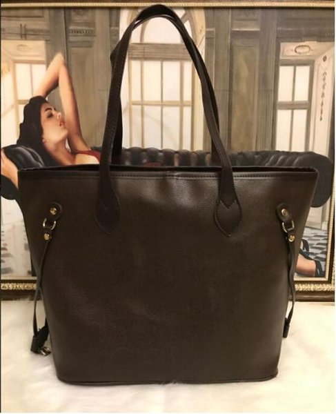 5A designer handbags classical Naver and full genuine cow high leather top quality luxury tote clutch shoulder shopping bag