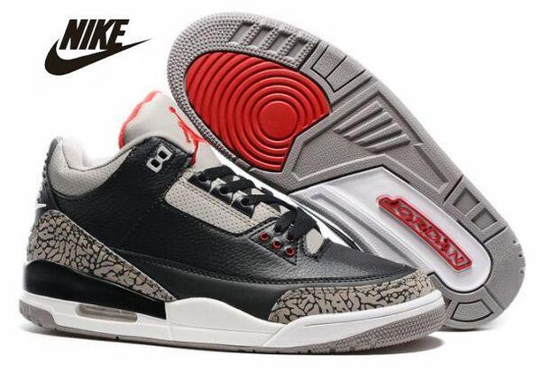 c4d5aa0fa14fe1 2019 Air Jordan Retro 3 Basketball Shoes 3s Jordan III Jordans Michael Air  Trainers Quai 54 Men ...
