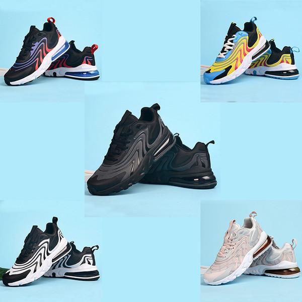 2019 yeni Maksimum 270 spor ayakkabıları erkekler siyah spor bayanlar sevimli pembe ENG tasarımcı 27C açık hava spor ayakkabıları Tepki