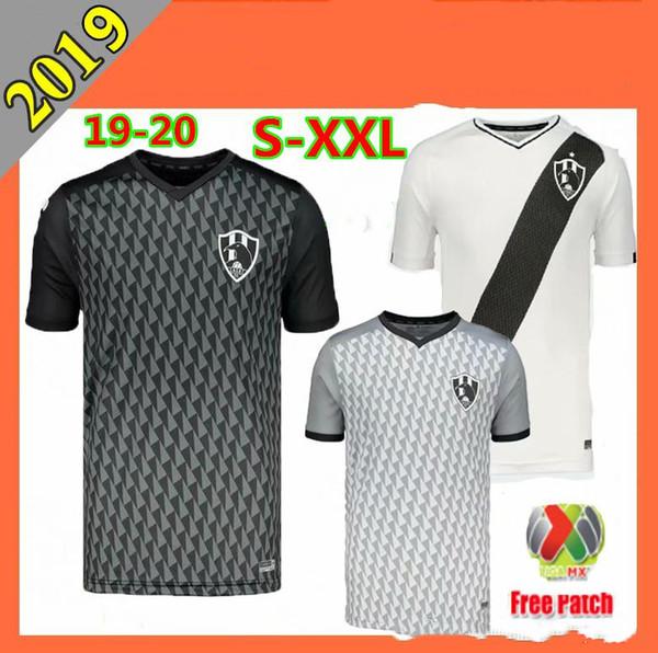 2019 Club De Cuervos camisa de futebol 19 20 Cuervos em casa TERCEIRO ZOMBIE MX liga club Camiseta tamanho S-2XL camisas de futebol