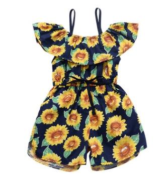 #2 Sunflower Girls Jumpsuits