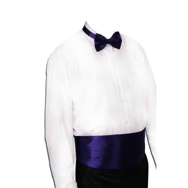 Gentleman Solid Wide Silk Satin Elastic Belly band Tuxedo Cummerbund Commercial Banquet Model Business Elite Black